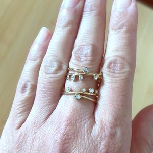 Stella and Dot Celestial ring
